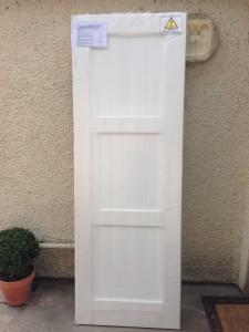 NHew toilet door