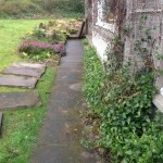 Slabs re-fitted level